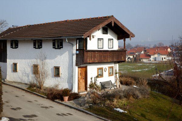 Unser einzigartiges Schmalhaus stammt aus dem 17. Jahrhundert.